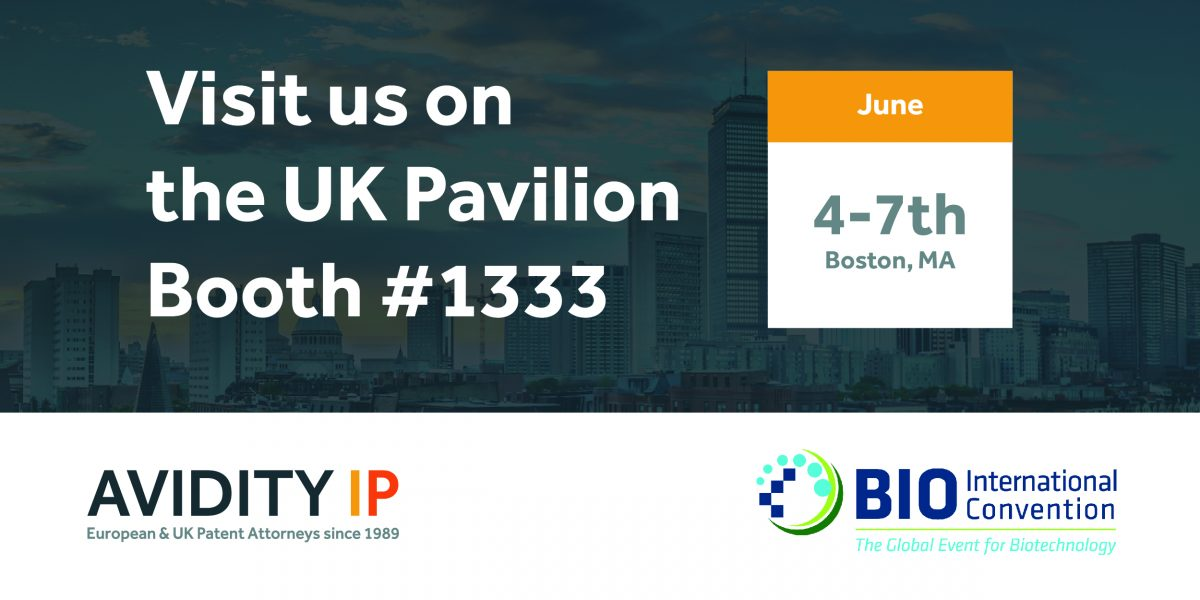 Visit us at Boston BIO Avidity IP