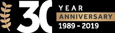 Avidity IP 30th anniversary banner